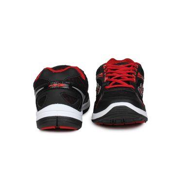 Columbus Black & Red Sports Shoe C16