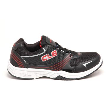 Columbus PU Sports Shoes - Black