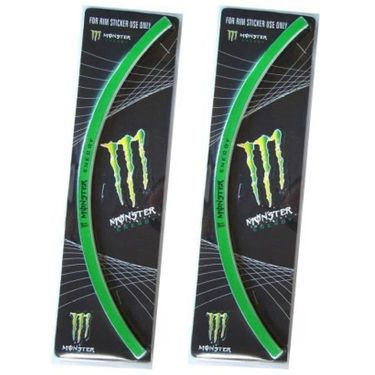 Set of 2 AutoStark Motorcycle Rim Sticker