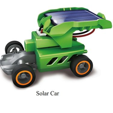Combo of 7in1 & 6in1 Educational Solar Energy Science Kit