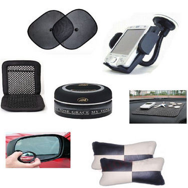Combo of 7 car interior accessories