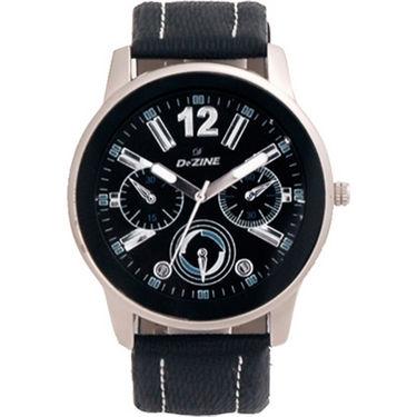 Combo of Dezine 2 Analog Watches + 1 Aviator Sunglasses_DZ-CMB110