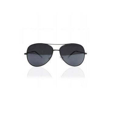 Combo of Fidato Backpack - Black + Wayfarer Sunglass + Leather Wallet-3528