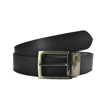 Combo of Royal Son Leather Belt + Silk Tie_WHO4899