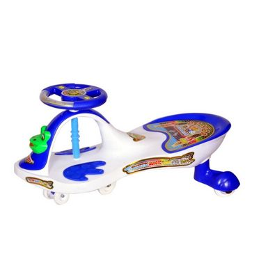 Crazy Frog Musical Swing Car White and Blue