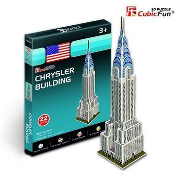 Cubic Fun 22pcs 3D Puzzle Chrysler Building Model Sculpture