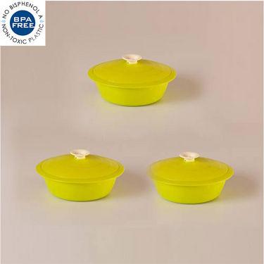 Set of 3 Cutting Edge Daffodil Cook N Serve - Light Green