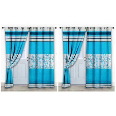 Storyathome Set of 2 Door curtain-7 feet-DCL_2-1015