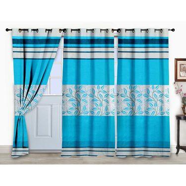 Storyathome Set of 3 Door curtain-7 feet-DCL_3-1015