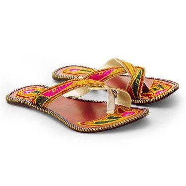 Branded Womens Sandal Multicolor -MO329