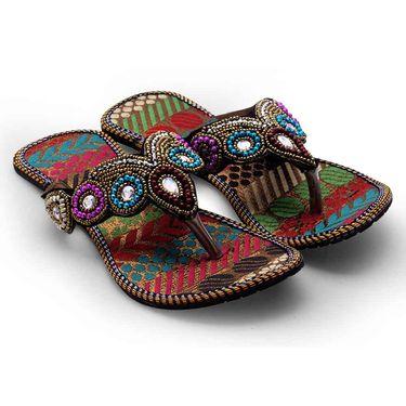 Branded Womens Sandal Multicolor -MO331