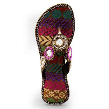 Branded Womens Sandal Multicolor -MO332