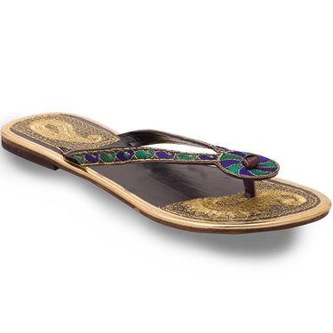 Branded Womens Sandal Multicolor -MO346