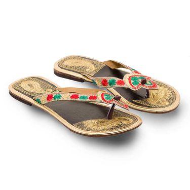 Branded Womens Sandal Multicolor -MO347