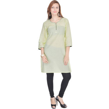 Combo of 3 Cotton Solid Kurti -DLI6KCO308