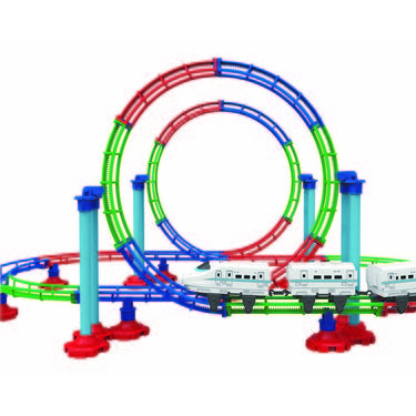 Mitashi Dash Roller Coaster Bullet Train - L