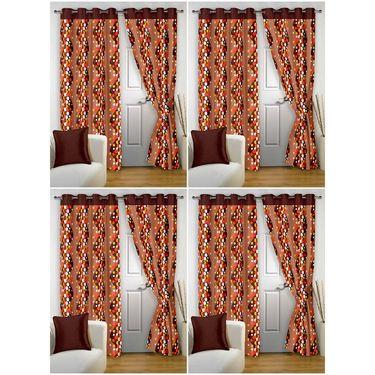 Storyathome Set 8 Door curtain-7 feet-DTZ_4-1007