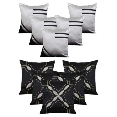Dekor World Set of 10 Designer Printed Cushion Cover-DWCB-195