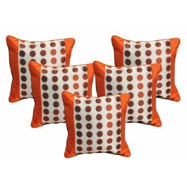 Set of 5 Dekor World Design Cushion Cover-DWCC-12-061-5