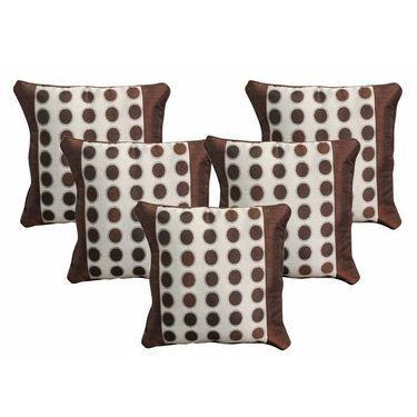 Set of 5 Dekor World Design Cushion Cover-DWCC-12-062-5