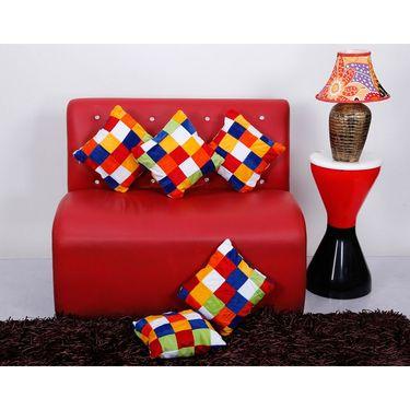 Set of 5 Dekor World Design Cushion Cover-DWCC-12-095