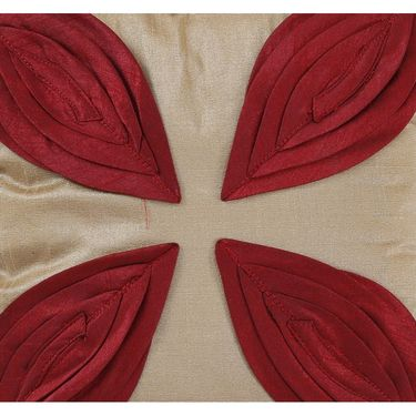 Dekor World Leaf Pattern Cushions Cover (Pack of 5)-DWCC-12-136-5