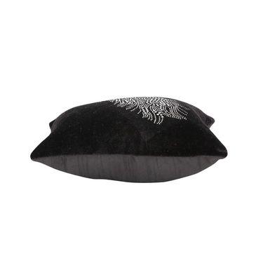Dekor World studded Leaf Cushion Cover (Pack of 5)-DWCC-12-148-5