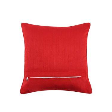 Dekor World Royal Zari Work Cushion Cover(Pack of 5)-DWCC-12-151-5