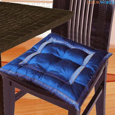 Dekor World Sprial Zari Lace Chair Pad-DWCP-026