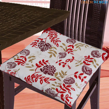 Dekor World Cotton Printed Chair Pad-DWCP-030