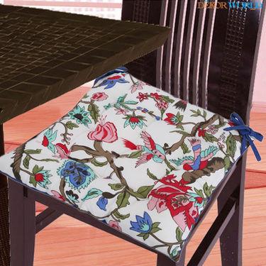 Dekor World Cotton Printed Chair Pad-DWCP-038