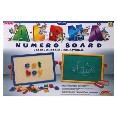 Big Magnetic 2 in 1 Alpha Numero Board