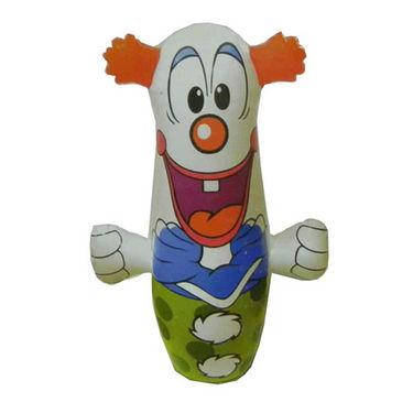 Hit-Me Clown Face Bop Bag for Kids