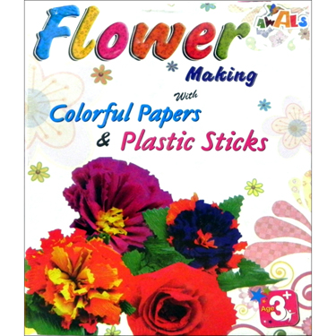 Flower Making - DIY Activity Kit for Kids
