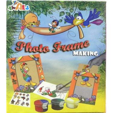 Awals New Photo Frame Making Kit- DIY Activity Kit for Kids