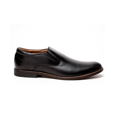Delize Leather Formal Shoes - Black-2831