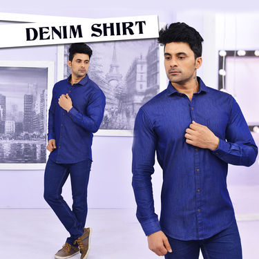 Denim Shirt (1SD1)