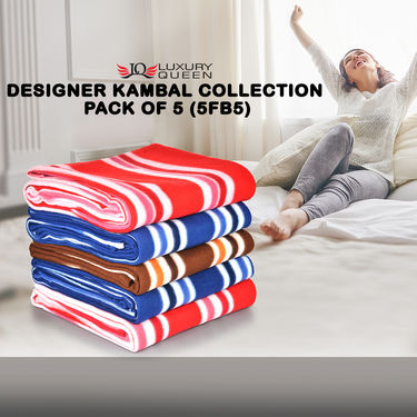 Designer Kambal Collection Pack of 5 (5FB5)