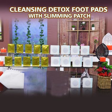 Cleansing Detox Foot Pads with Slimming Patch