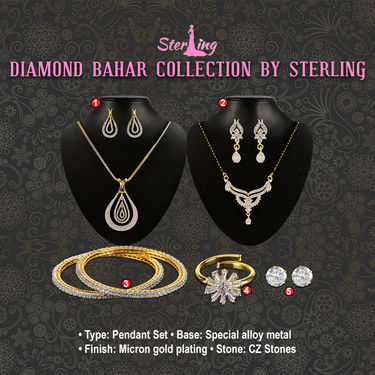Diamond Bahar Collection by Sterling