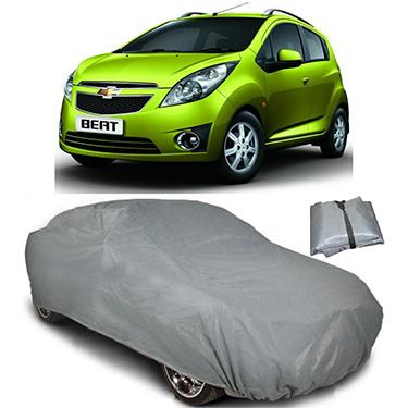 Digitru Car Body Cover for Chevrolet Beat - Dark Grey