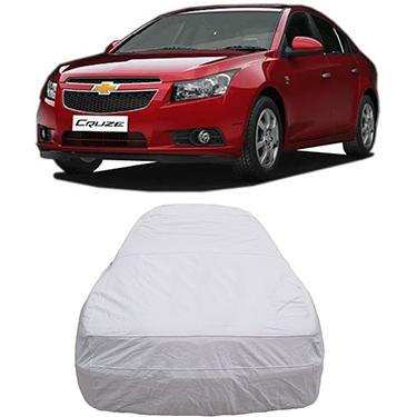 Digitru Car Body Cover for Chevrolet Cruze - Silver