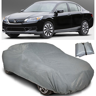 Digitru Car Body Cover for Honda Accord Hybrid - Dark Grey
