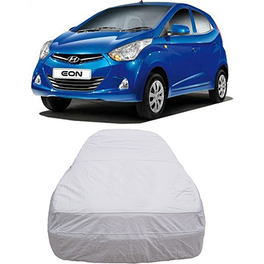 Digitru Car Body Cover for Hyundai Eon - Silver