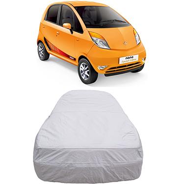 Digitru Car Body Cover for Tata Nano - Silver