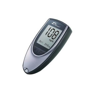 Dr. Morepen BG-03 Glucose Monitor with 25 Test Strips