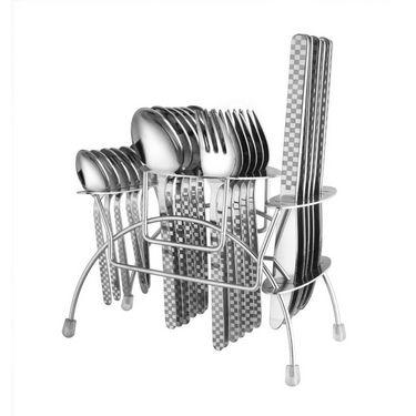 Elegante Blossom Stainless Steel Cutlery Set EBSSCS002