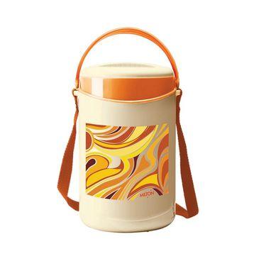 Milton Econa 4 Tiffin Box-Orange FG-THF-FTT-0041