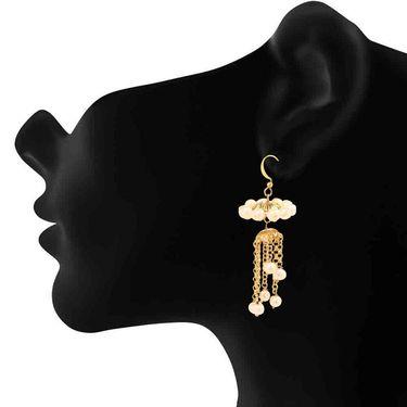 Branded Gold Plated Artificial Earrings_Er2106117g