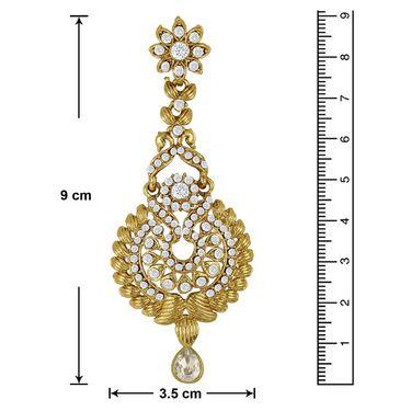 Branded Gold Plated Artificial Earrings_Er30004g